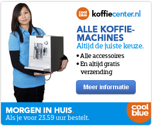 coolblue > Alle koffie machines